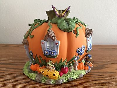 PartyLite Harvest Pumpkin Tealight House (P7316)