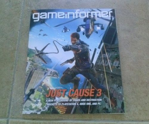Game Informer Just Cause 3 December 2014 #260