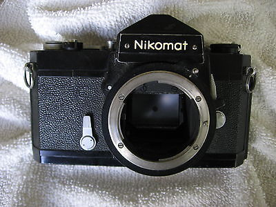 NIKORMAT FTN BLACK CAMERA