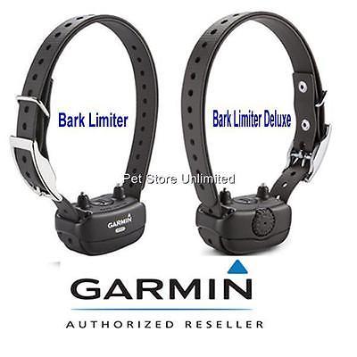 Garmin BarkLimiter & BarkLimiter DELUXE Dog Bark Collar - No Bark Collar