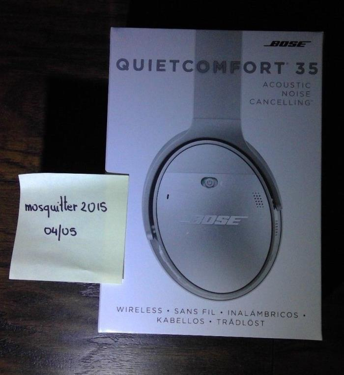 Bose QuietComfort 35 Black Headband Headsets