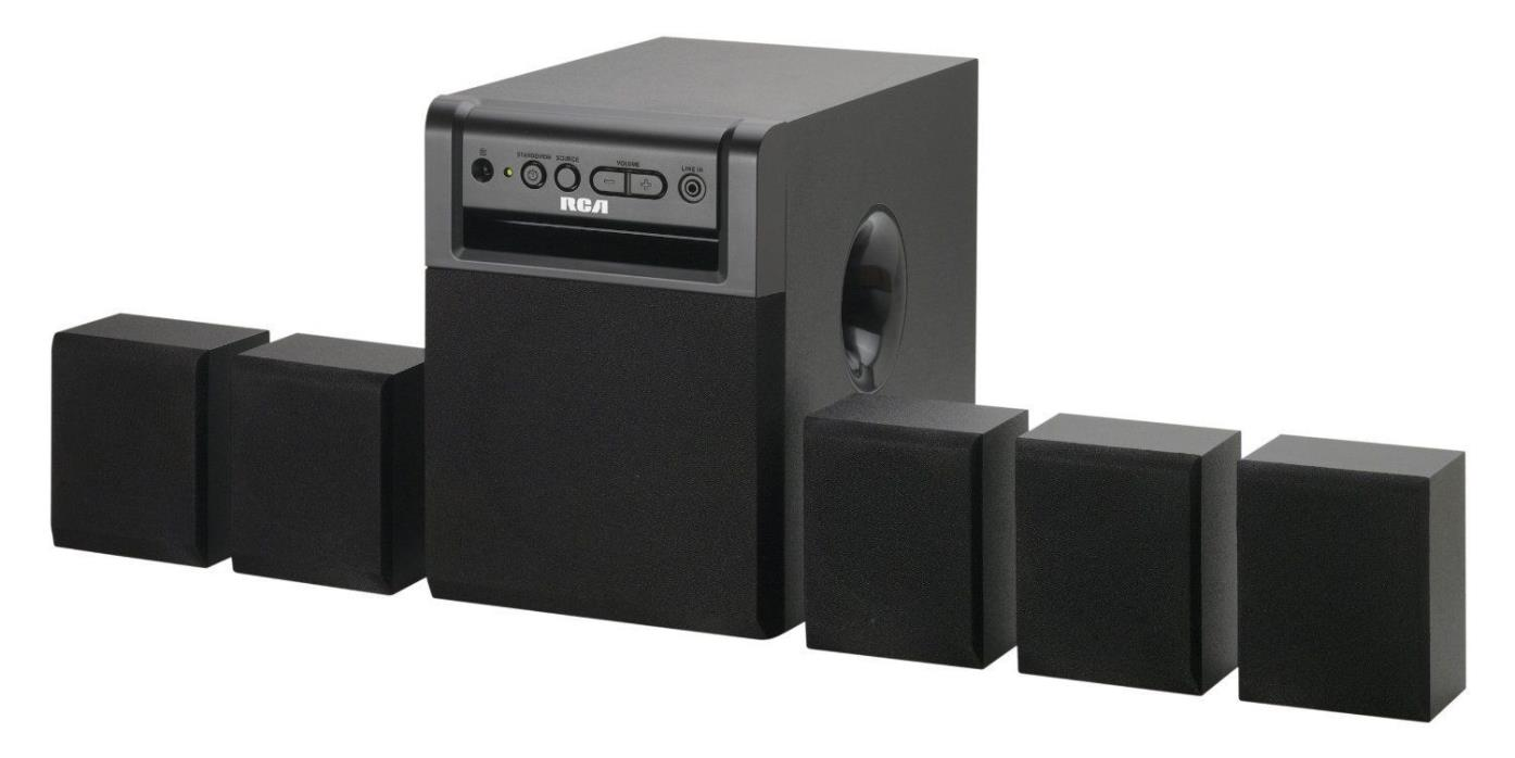 5.1 Channel Surround Sound Home Entertainment Theater System New Free Shipping