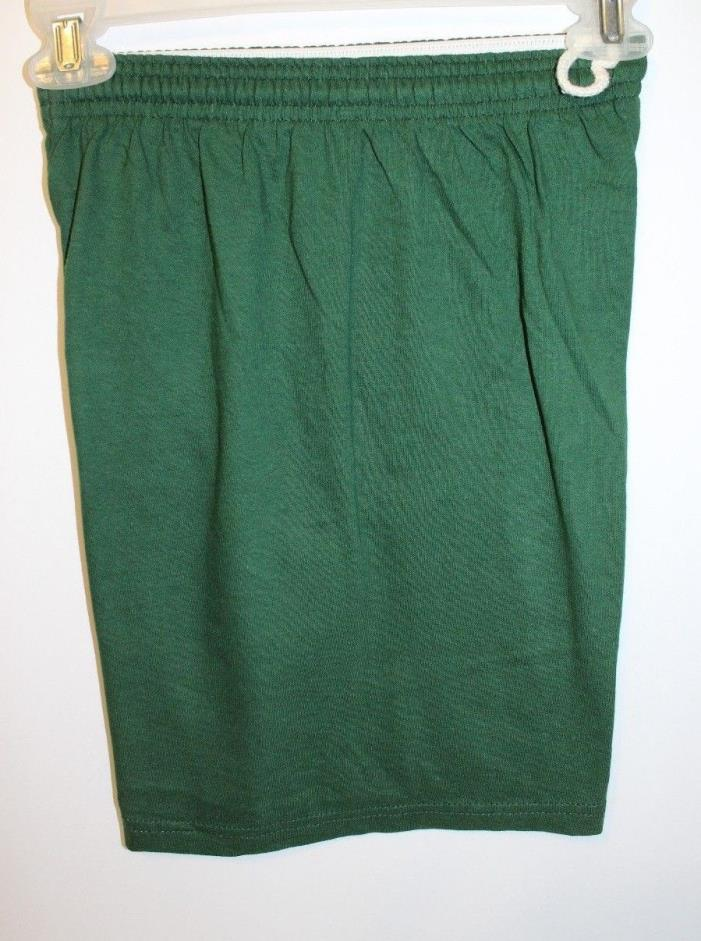 Green NWT Russell Athletic Shorts Gym Sports Basketball Soccer Size Youth X Lg