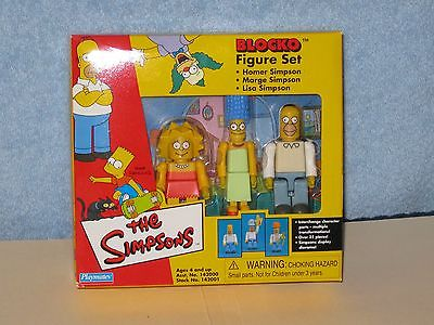 Blocko - The Simpsons - Lisa, Homer, Marge