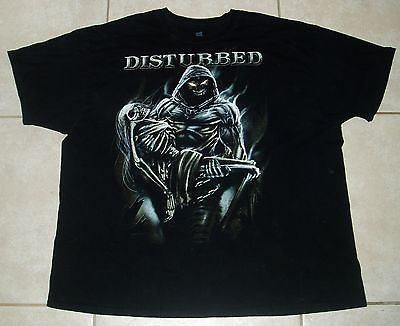 DISTURBED T Shirt (2XL / 3XL) 2 Extra Large Mens Metal korn avenged sevenfold