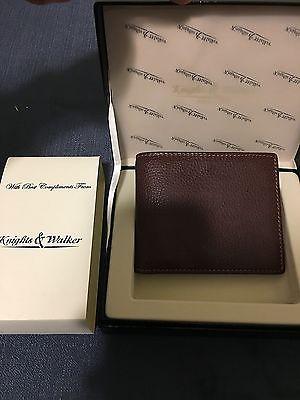 Knights & Walker Leather Wallet NEW