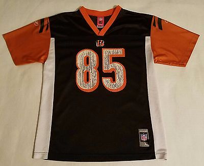 Bengals C Johnson #85 Reebok NFL jersey sz youth XL