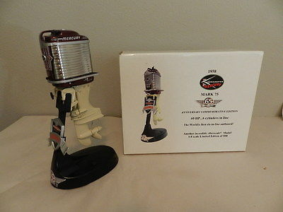 TOY OUTBOARD MOTOR- ALTERSCALE 1958 KIEKHAEFER MERCURY  MARK 75- TOY BOAT MOTOR