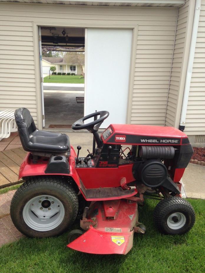 Lawn Tractor Toro Wheel Horse 312-8