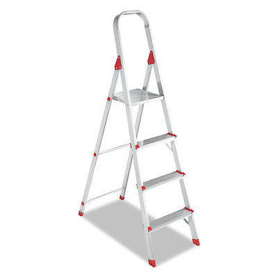 Davidson 4' Folding Aluminum Euro Platform Ladder - DADL234604
