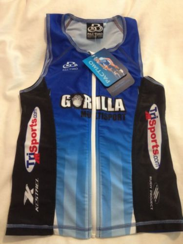 PACTIMO CYCLING TOP JERSEY MENS BIKING SMALL S BICYCLE SINGLET BRAND NEW NWT NR