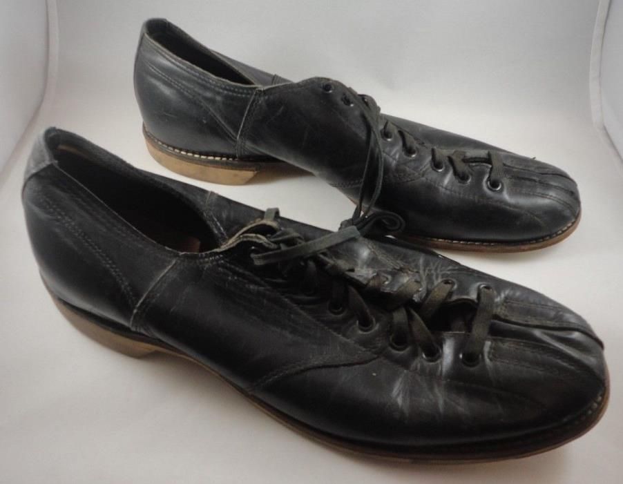 Vintage Goodyear Hyde Welt Leather Bowling Shoes Mens