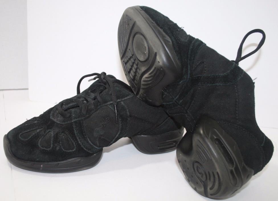 Sansha Skazz Black Hi Step Dance Hip Hop Sneakers Unisex 3M Womens Size 1.5 - 2
