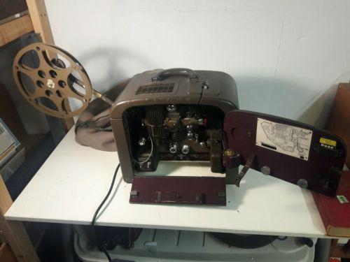 Vintage antique Bell & Howell Filmosound 185 16mm Film Projector