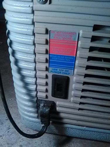 Coleman 12 volt cooler