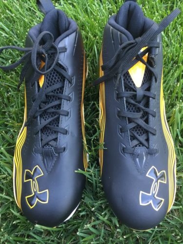 Under Armor Football Cleats Men's Size 9.5