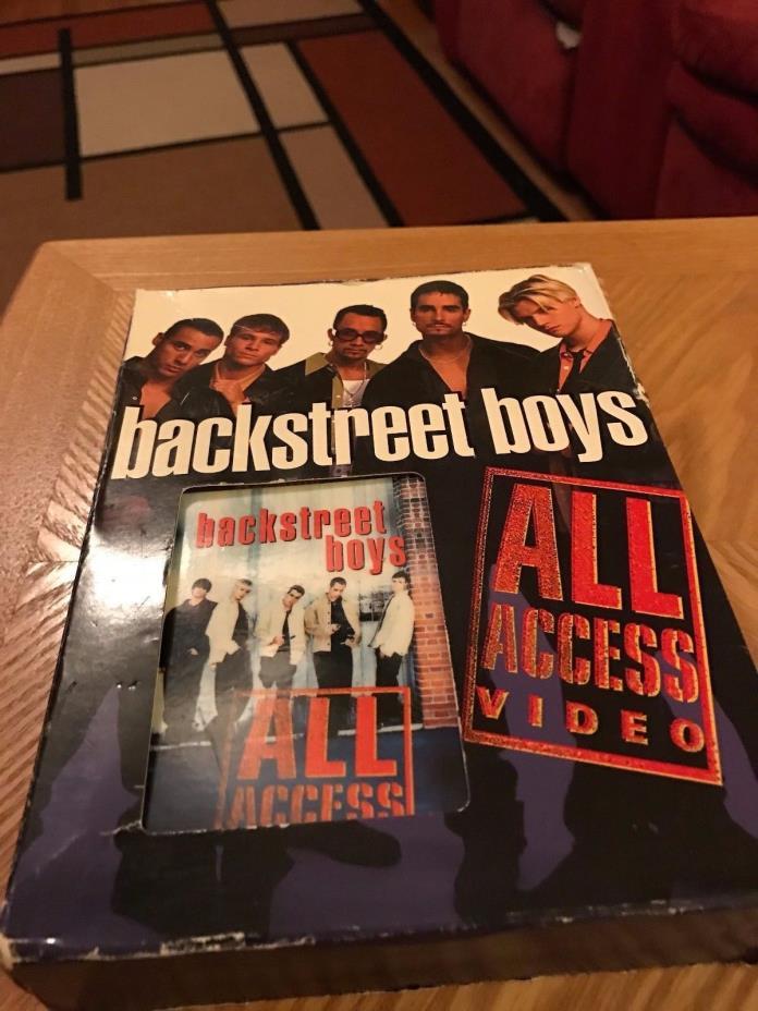Backstreet Boys ALL ACCESS VHS, Sampler CD