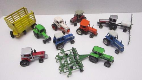 Vtg Farm Toys, Tractors Allis Chalmers, Deutz-Allis, Ford TW-2,0 Massey Ferguson