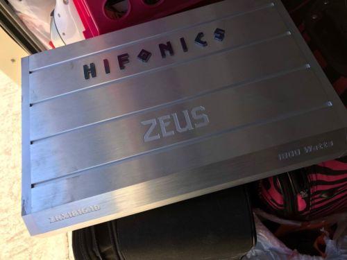 HIFONICS ZRX1816.1D 1800W MONOBLOCK ZEUS 1 CHANNEL CLASS D CAR AUDIO AMPLIFIER