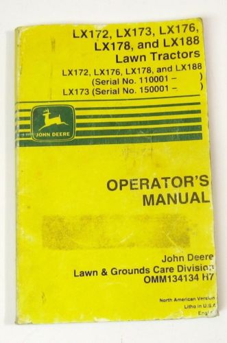 john deere lx178 manual free