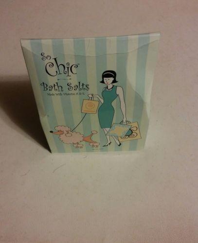 015 So Chic Bath Salts  Vitamins A&E Elegant Home Design