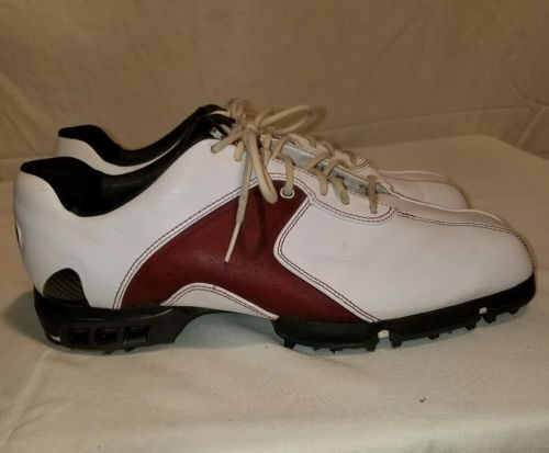 NIKE TIGER WOODS COLLECTION MENS 8.5 PRE-OWNED GOLF SHOES