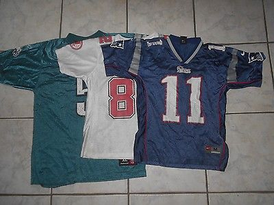3 NFL Youth jerseys Medium/Large/XL Good shape!!!