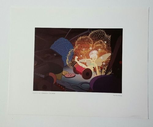 PETER PAN LITHOGRAPH TINKERBELL Chaos in the Dresser Drawer