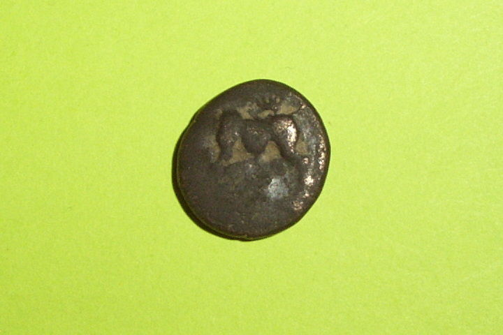 RARE Ancient GREEK COIN bull PHLIASIA PHLIUS 430 BC-322 BC letter of city old G