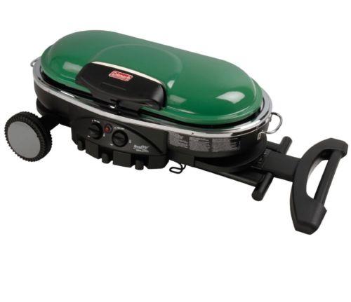 Coleman RoadTrip LXE Portable 2-Burner Propane Grill - 20000 BTU Green