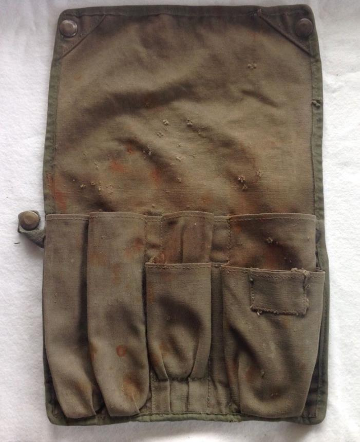 Vintage 1950's? US Air Force Mechanics Tool Pouch Apprentice Hinson MFG