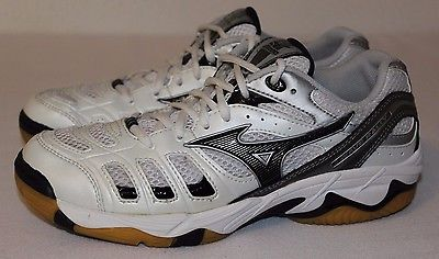 Women's Size 7.5 / 38 MIZUNO Wave Rally Sneakers Volleyball Shoes * GC & CLEAN