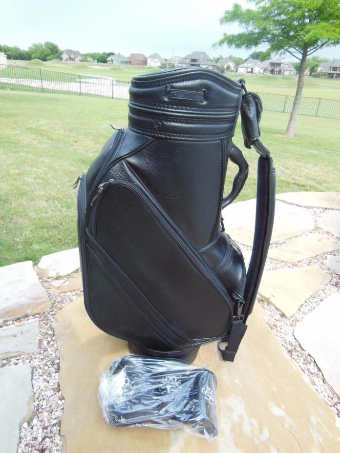 Burton Staff Cart Golf Bag with Headcovers - Black NEW!
