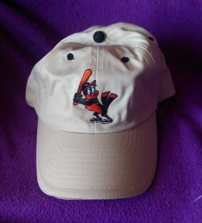 Baltimore Orioles Gray ORIOLE BIRD LOGO Adjustable Hat Youth Size