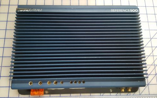 NICE Original Old School Soundstream Reference 500 Amp Amplifier 1 Ohm Stable