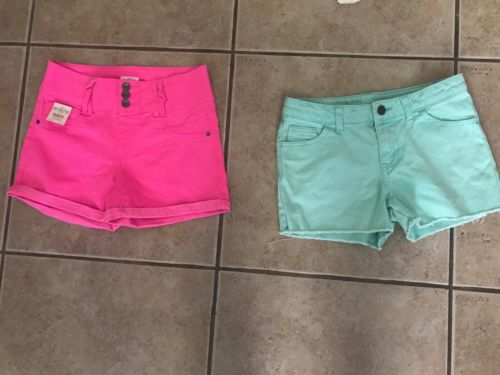 Lot Of Shorts (2 Pair) Size 14/16  So/ Cherokee