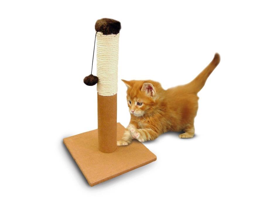 ASPCA Cat Tree Scratching Post Tan NEW 10