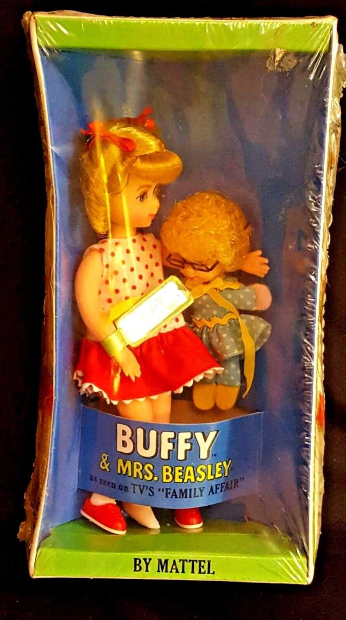 VTG Buffy Mrs Beasley Tutti Family Affair Doll 3577 NRFB 1967 Mattel New in Box
