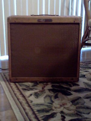 1959 Fender Pro Tweed Guitar Amplifier 5E5A circuit