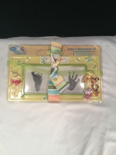 Disney Winnie The Poor Baby's First Prints Kit New.