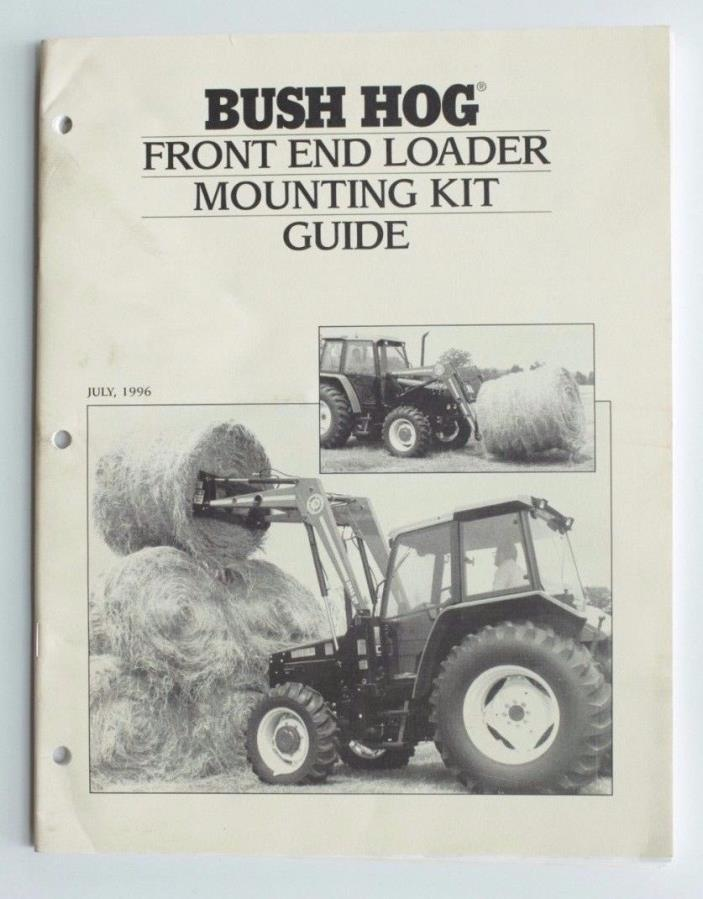 Bush Hog Loader For Sale Classifieds