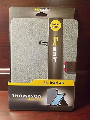 SOLO Thompson Slim Case for iPad(R) Air and iPad(R) Pro Electronic Case NEW