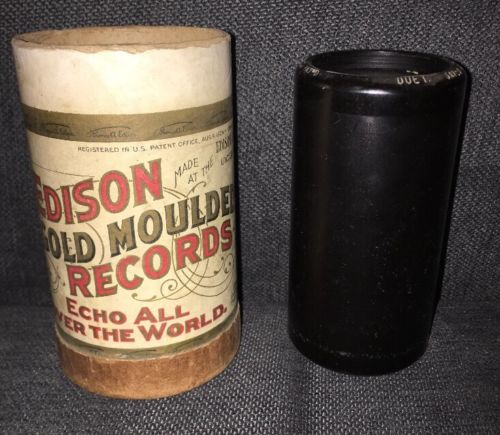 Edison Gold Moulded Records - Saved By Grace - Natl. Phonograph Company