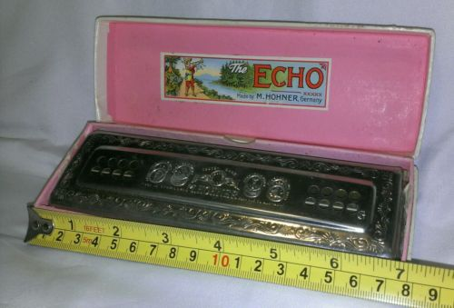 M. Hohner The Echo Harp Harmonica Germany