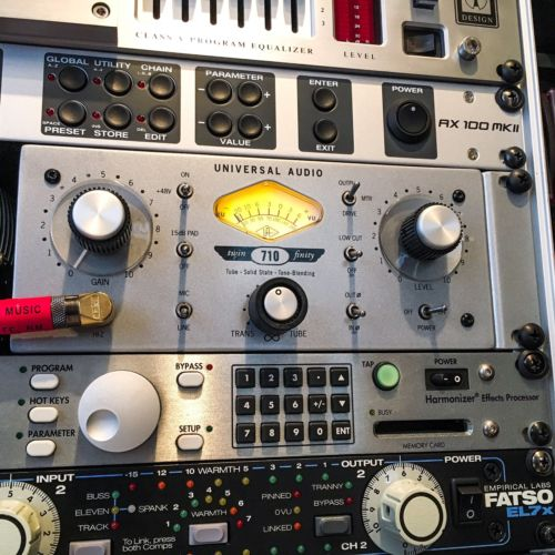 Universal Audio 710 twin-finity Mic Pre & DSP Card Bundle!!