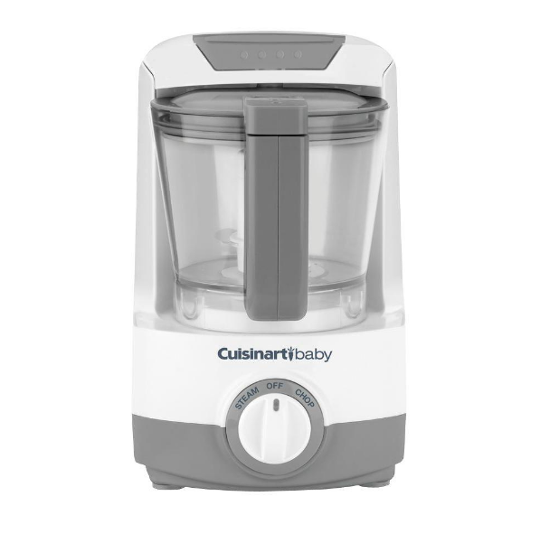 Cuisinart Baby Bottle Warmer and Food Maker Chop/Puree 4-Cup Bowl New BFM-1000