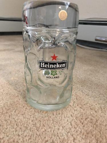 budweiser, Miller Lite, Michelob,lowenbrau,heineken Beer Mugs