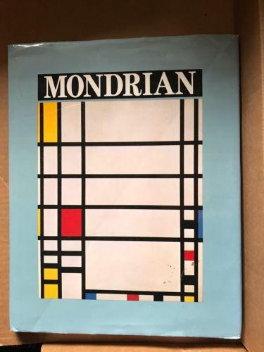 Mondrian Hardback Book Of Artist Pete Mondrian