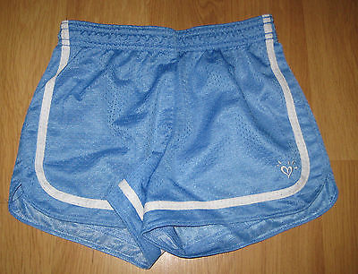Justice Brand Blue-White Gym Shorts-Athletic-Running Summer Girls Size 8