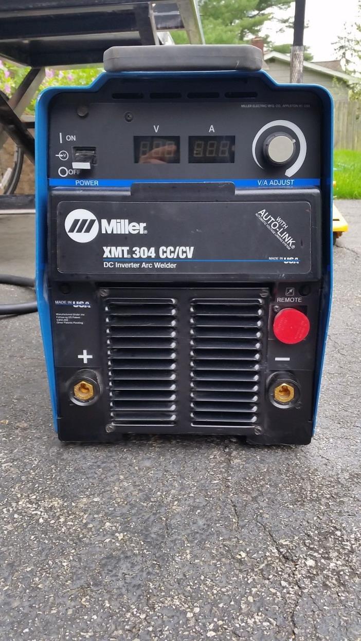 Miller DC inverter xmt,304 cc, cv, mig, tig